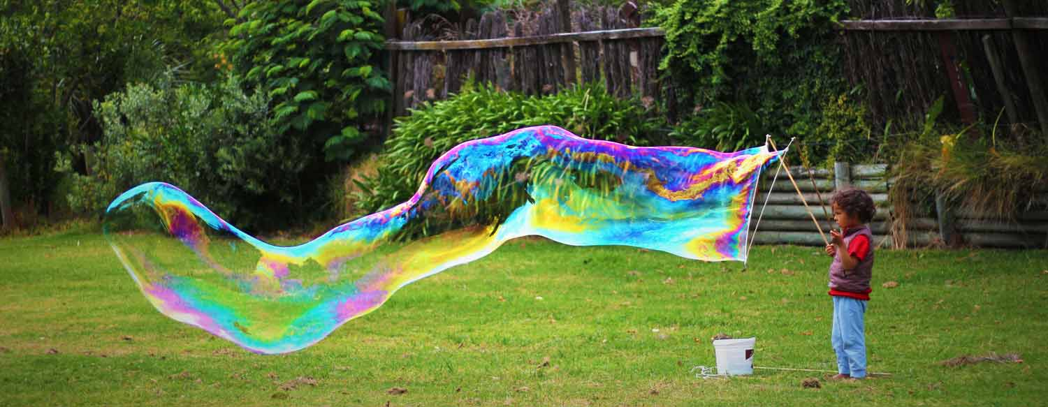 How to Create the Best Giant Bubbles